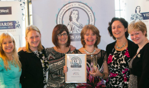 Sarah Cressall Founder of  The Creation Station wins national Entrepreneur of the Year Award