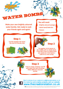 Create and make waterbomb