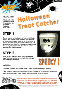 Make your own Treat Catcher
