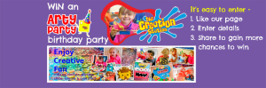 Win a 'Cool' Creation Station Art Party!