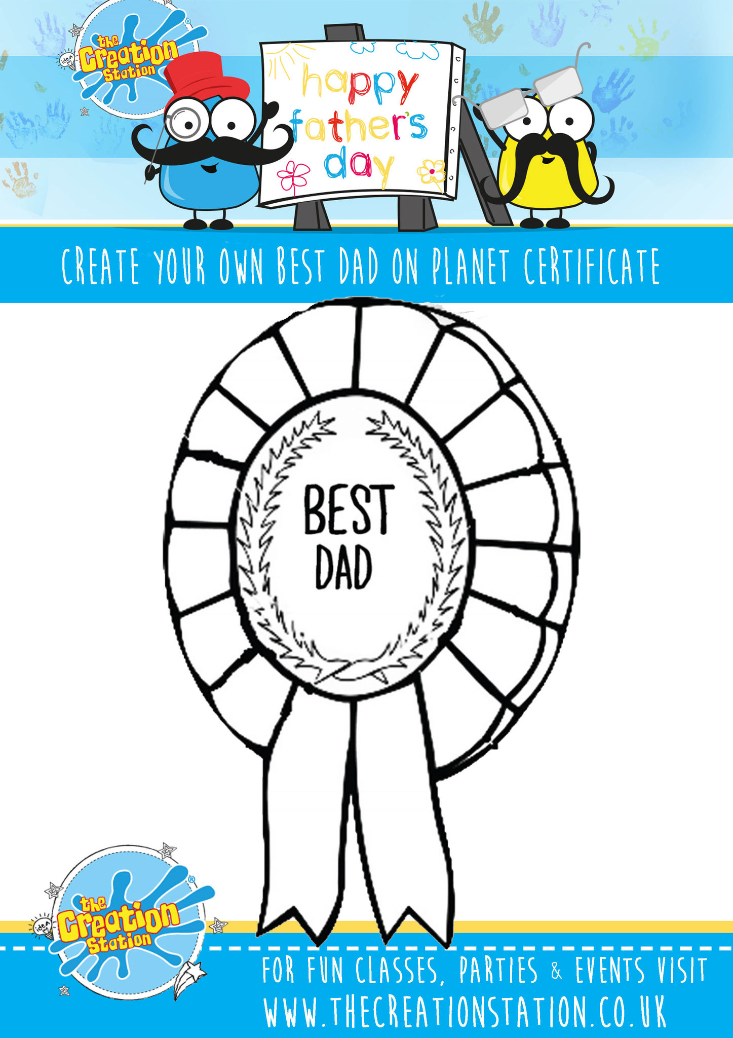 Fathers Day Crafts Activity For Kids