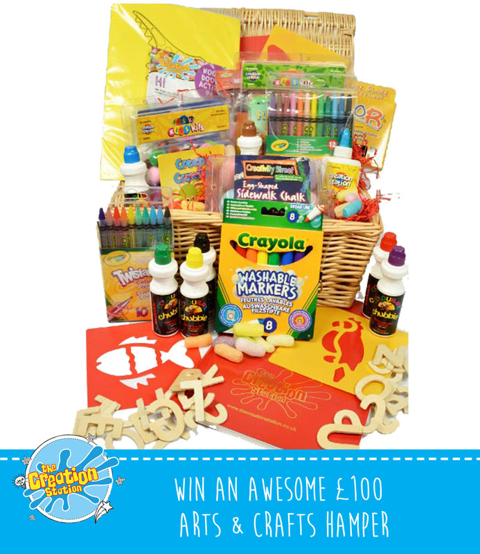 Creation Station Craft Hamper worth £100
