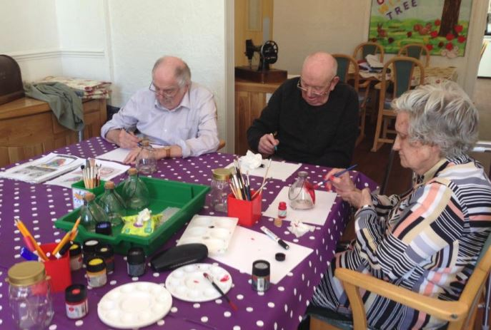 Creation Station Impact 100 Dementia Workshops