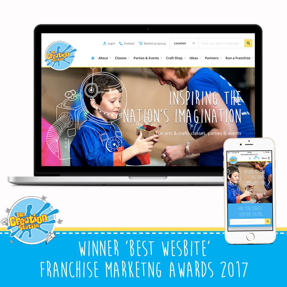The Creation Station Best Website Award