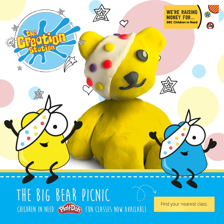 Pudsey Workshops In Your Area The Creation Station