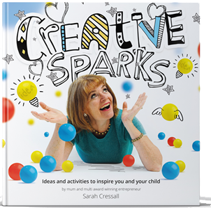 Sarah's book Creative Sparks