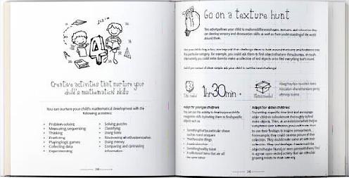 Creative Sparks book open copy