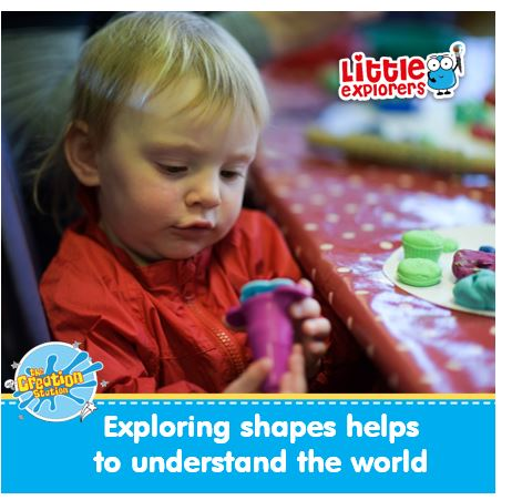 Creative activities help your child explore and understand their world