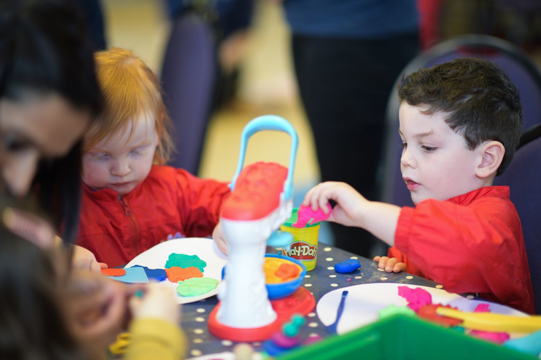 Free Creation Station and Play-Doh in Schools