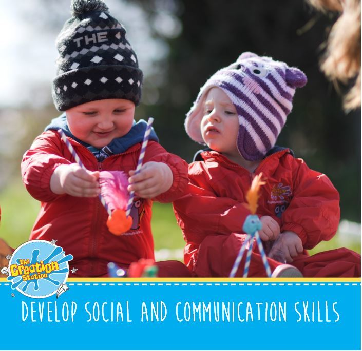 Develop social and communication skills