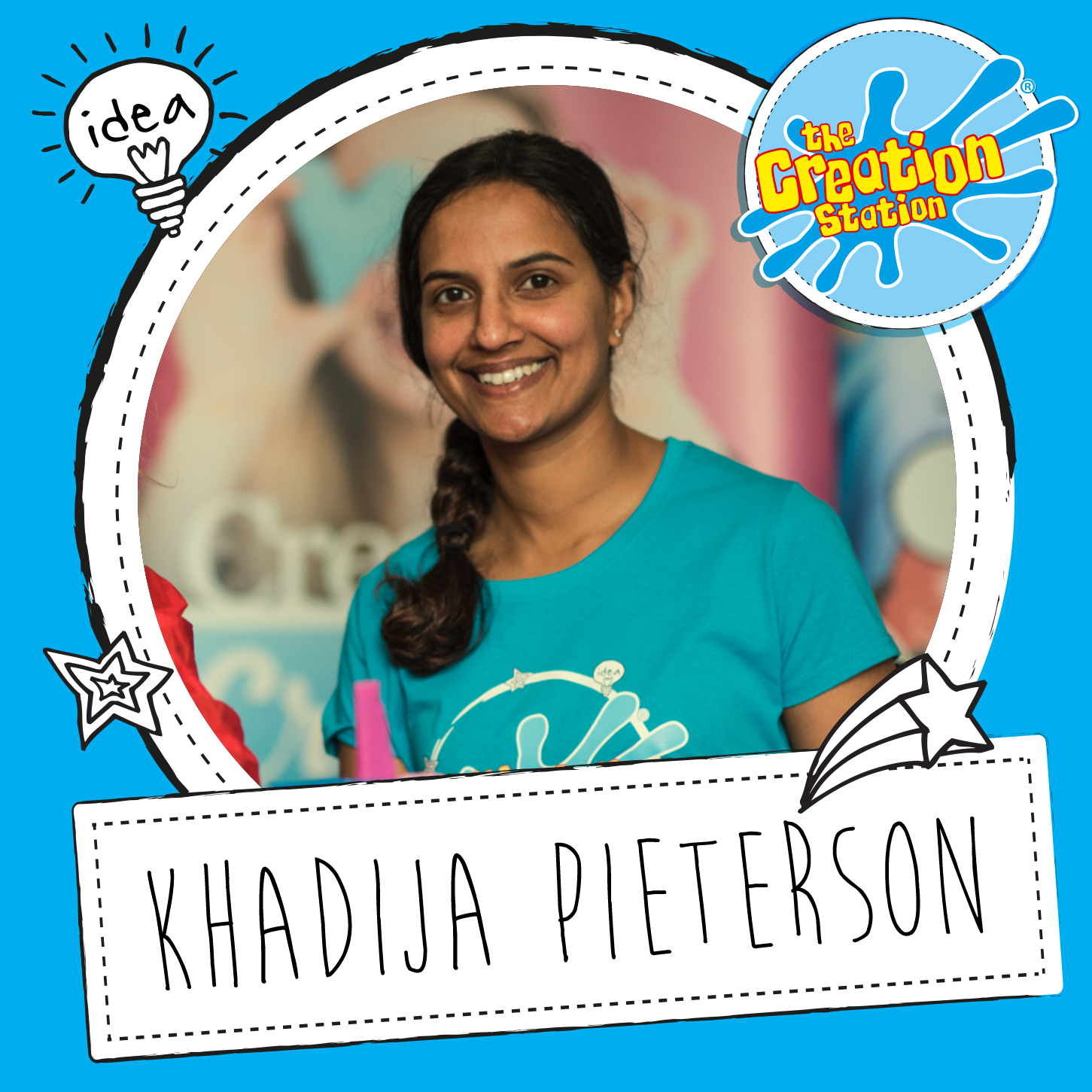 Creation Station franchisee Khadija Pieterson