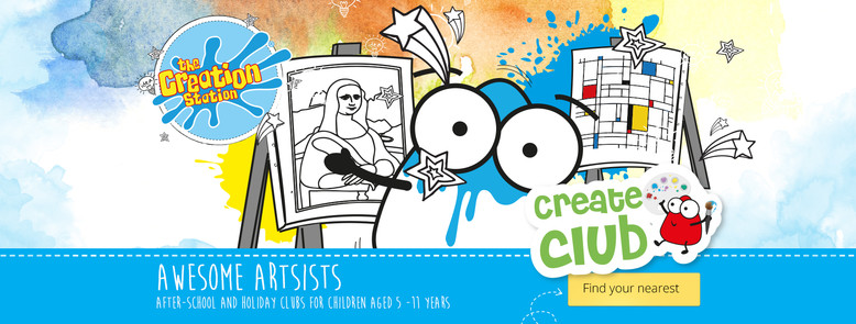 'Awesome Artists' workshops for schools and after school clubs