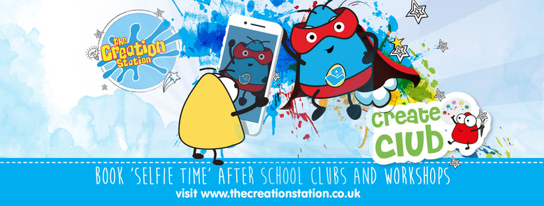 'Inspired By Me' Creation Station workshops for schools and after school clubs