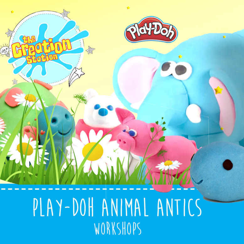 Creation Station Play-Doh Animal Antics School Workshops