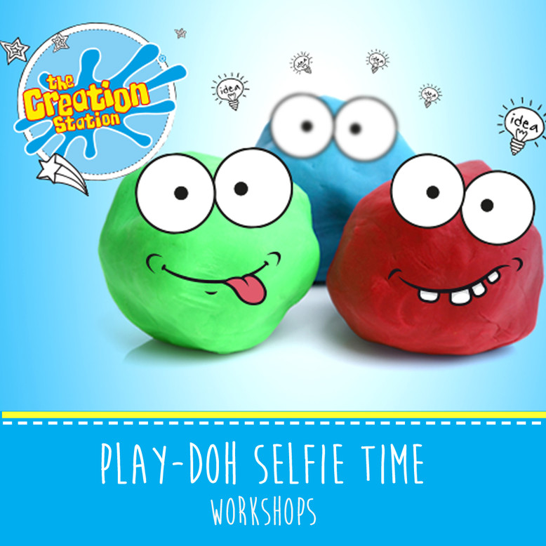 The Creation Station School Play-Doh Selfie Time Workshops