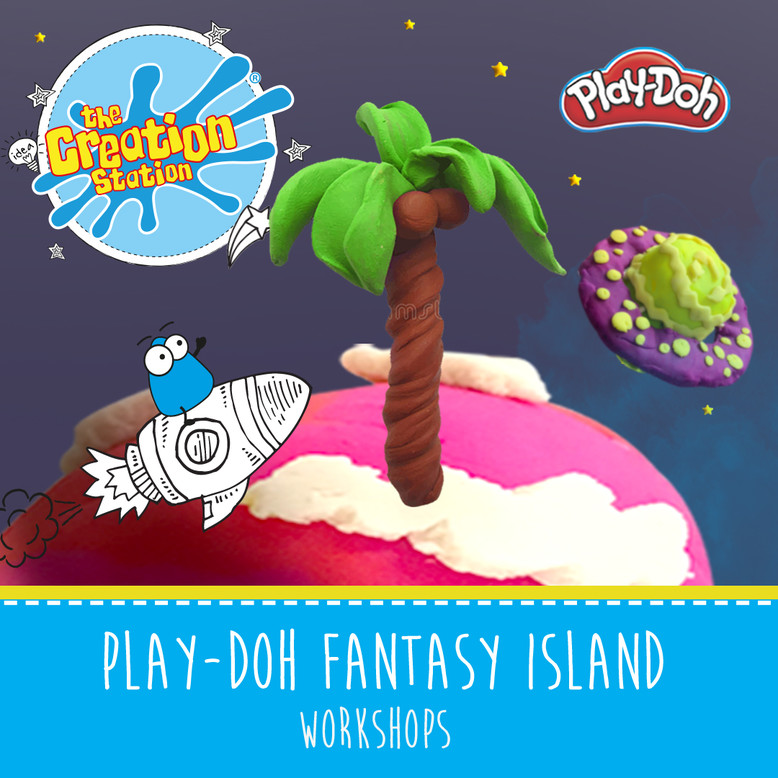 The Creation Station Fantasy Island Play-Doh Curriculum Based School Workshops