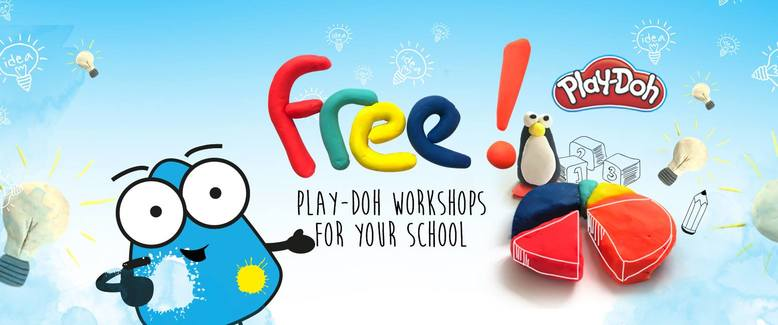 Creation Station Free Play-Doh Workshops For Schools - winners announced