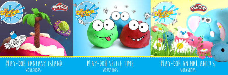 Creation Station provides educational creative Play-Doh sessions