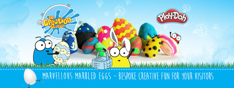 Creation Station Easter events in shopping centres