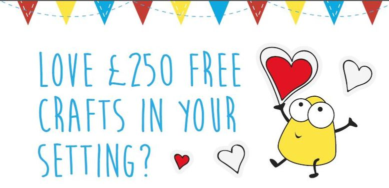 Love £250 crafts in your setting from The Creation Station