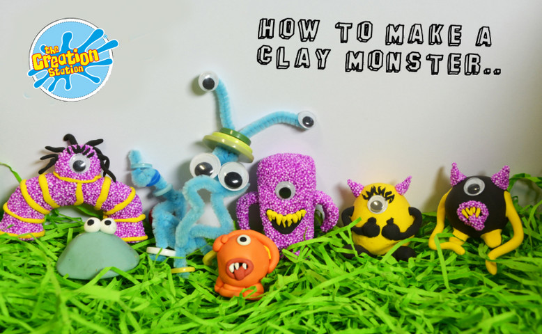 How to make a foam clay monster