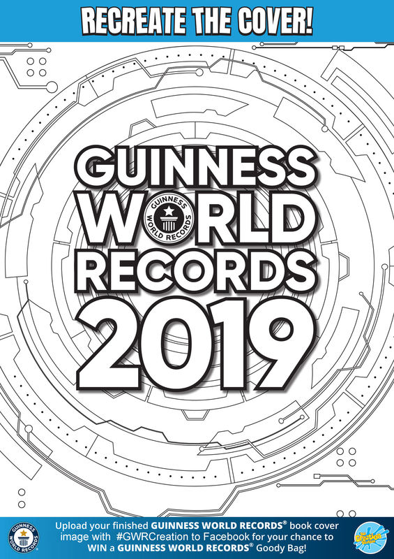Creation Station Guinness World Records Cover Download