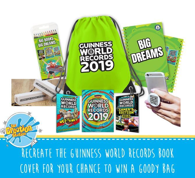Creation Station win a Guinness worlds records goody bag