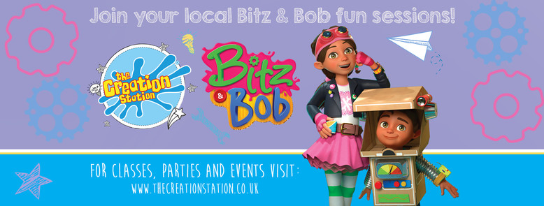 The Creation Station Bitz ad Bob activities and sessions