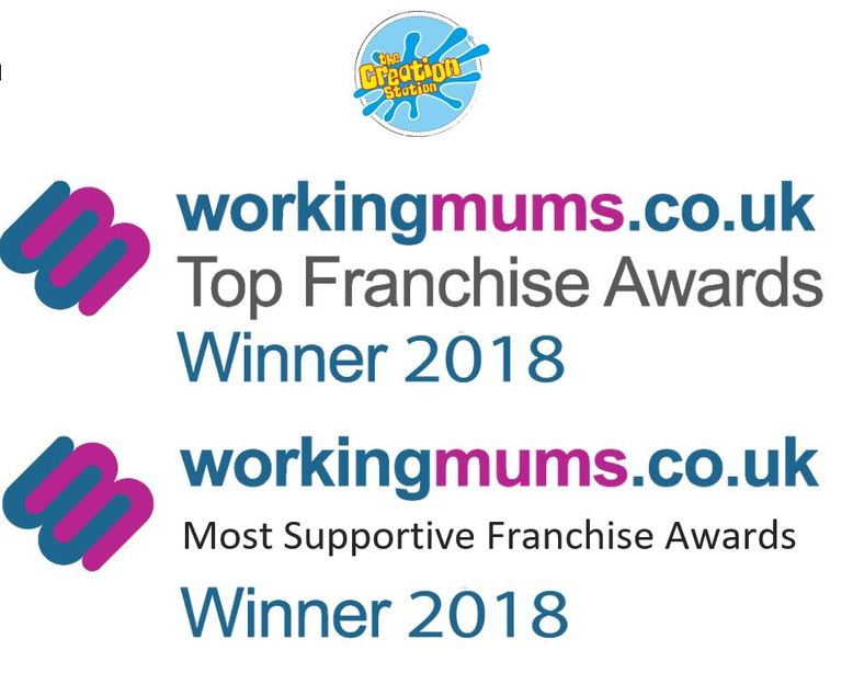 Creation Station Working Mums Winner Best Franchise logo