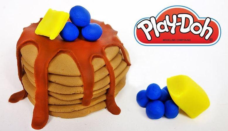 Play Doh Pancakes