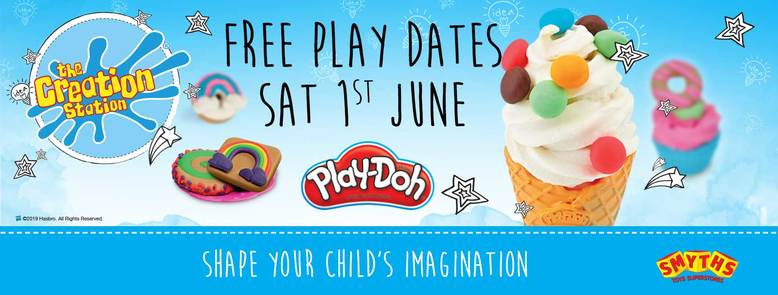 CREATION STATION and Smyths Free event