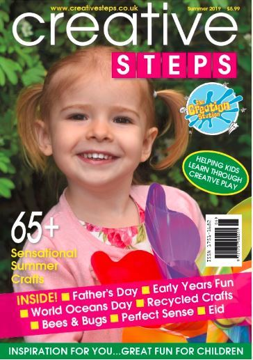 Creative Steps Summer Front Cover