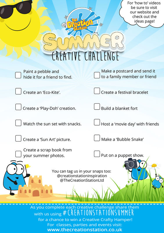 Summer challenge 2019 sheet