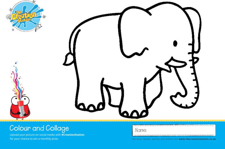 Elephant Lanscape