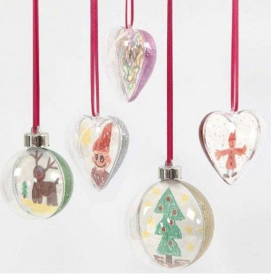 Create your own christmas bauble