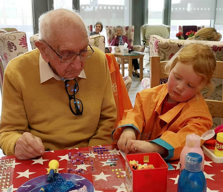 Creative Intergenerational Workshops With The Creation Station