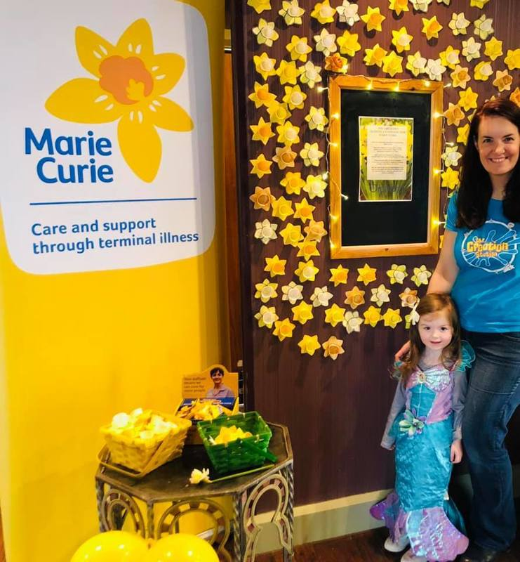 The Creation Station Hitchin, Letchworth and Stotfold fundraising for Marie Curie