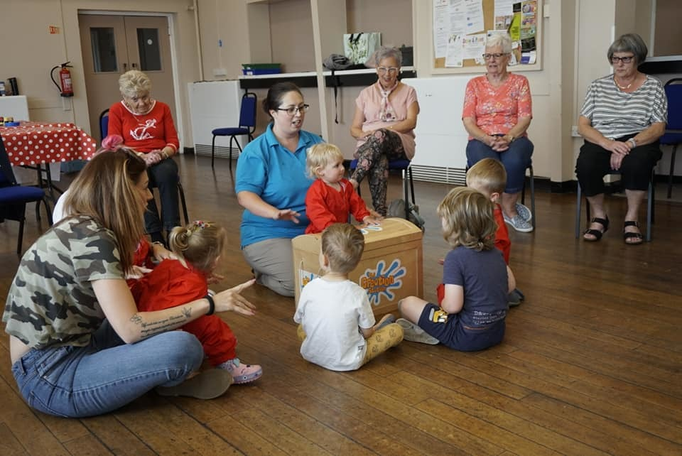 Creative Intergenerational Workshops With The Creation Station Barnsley West