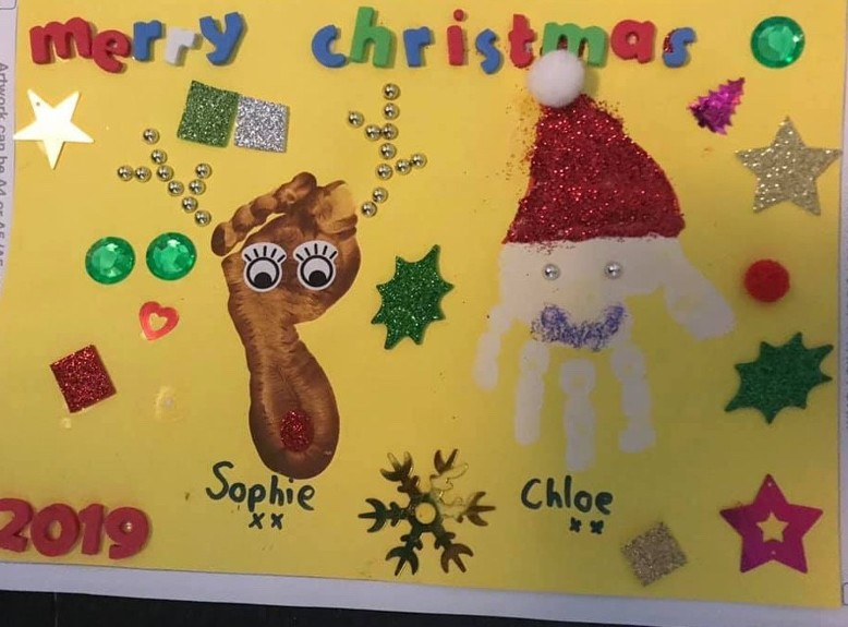 Creative Christmas cards with The Creation Station