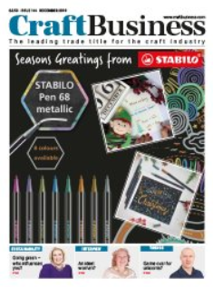 Sarah Cressall, founder of The Creation Station writes for Craft Business Magazine this December