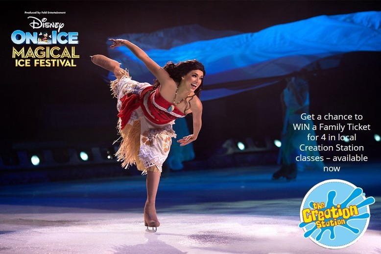 Disney On Ice sessions with Creation Station local