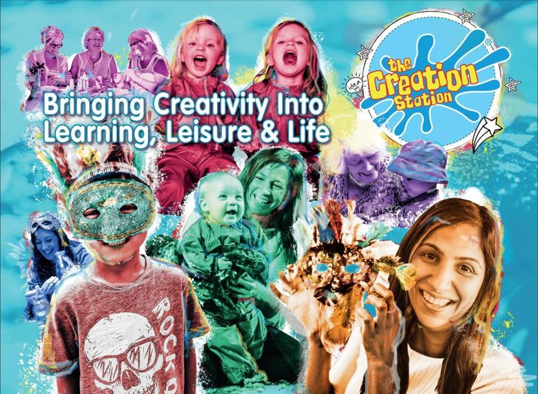 Creation Station brings creativity  to learning, leisure and life
