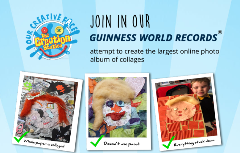 Creation Station - Creative Face  - World record attempt
