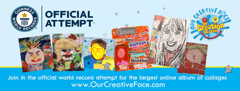 Our Creative Face Collage  - The Creation Staaion