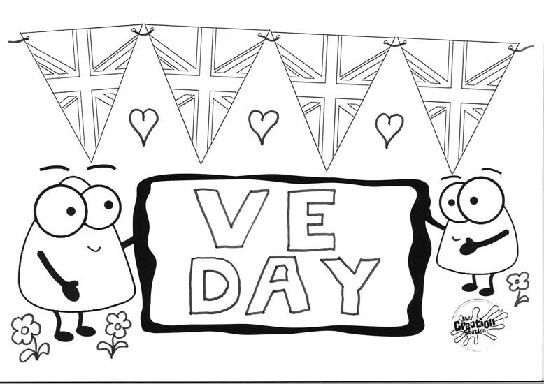 VE  Day Colouring In Download