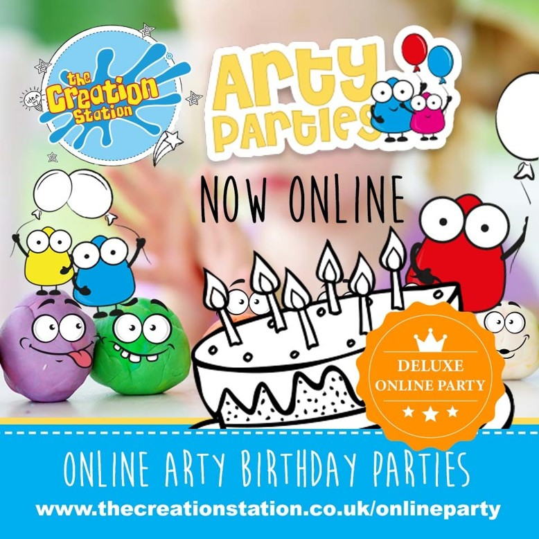 DELUXE  PACKAGE arty parties  online PRODUCT