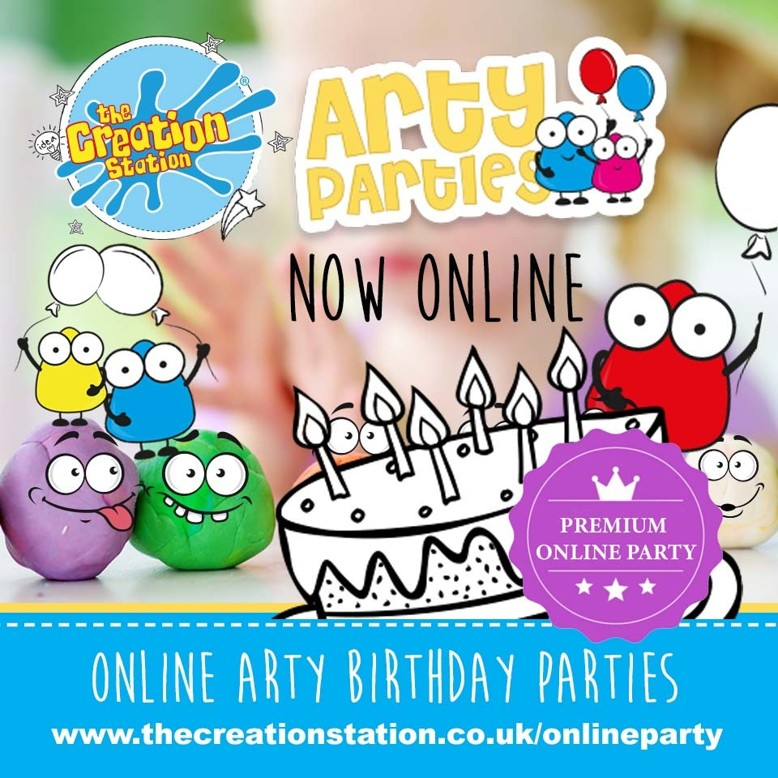 PREMIUM  PACKAGE arty parties  online PRODUCT