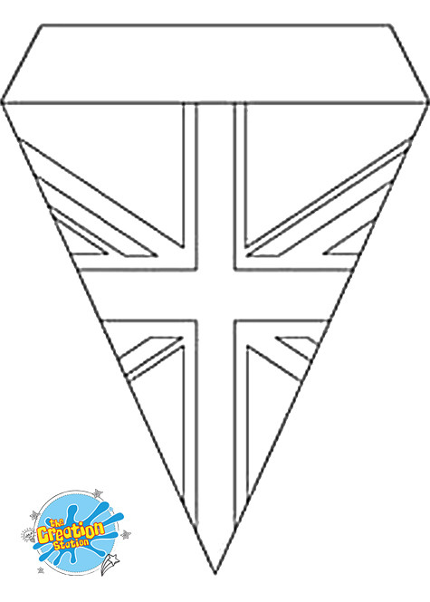 VE Day Template Bunting