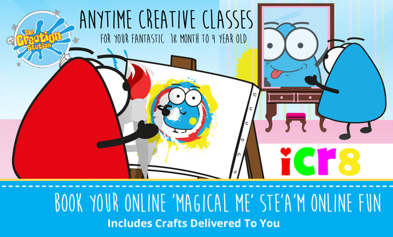 Anytime creative classes Magical Me