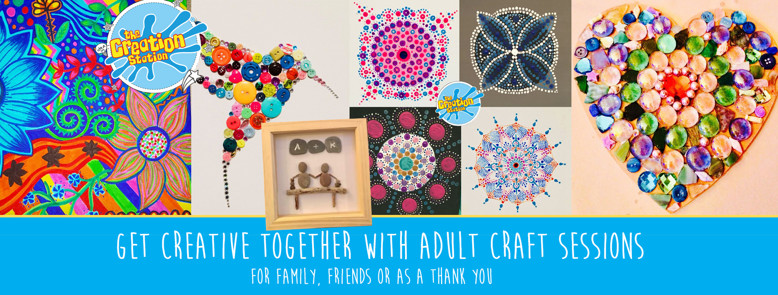 Creative crafters adult online sessions